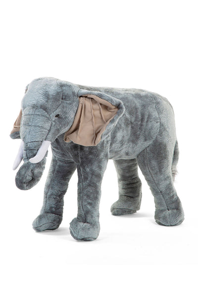 CuddleCo Standing Elephant Stuffed Animal 60cm
