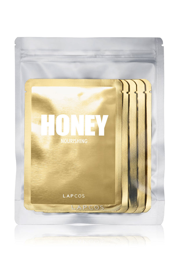 Daily Skin Mask Honey 5 Pack by Lapcos