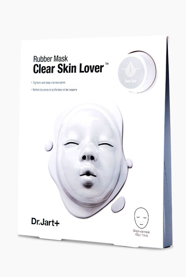 Dr Jart Rubber Mask Clear Skin Lover Sheet Mask
