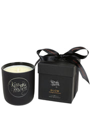 GLOW Aromatherapy Soy Candle - Orange & Geranium by Kiss The Moon