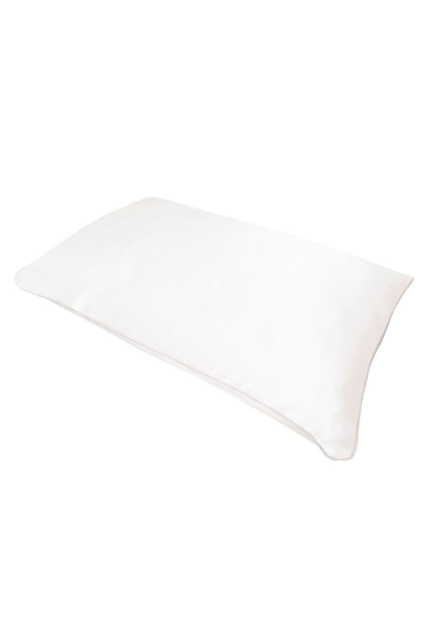 Pure Mulberry Silk Pillowcases in White by Holistic Silk