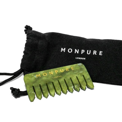 Heal and Energise Jade Comb by MONPURE
