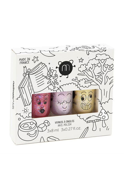 nailmatic Set of 3 nail polishes – Magic Forest