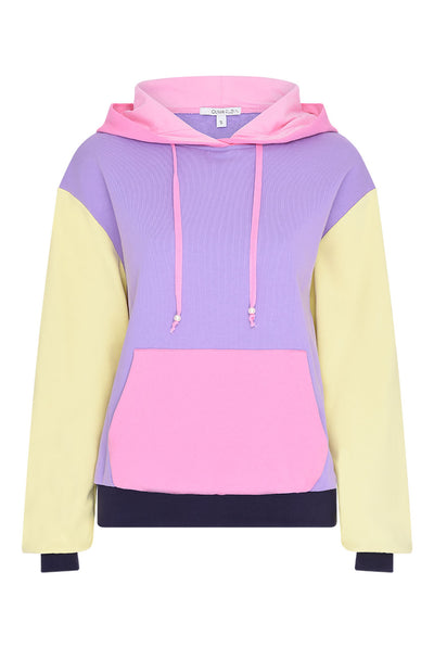 Maya Colourblock Hoodie by Olivia Rubin