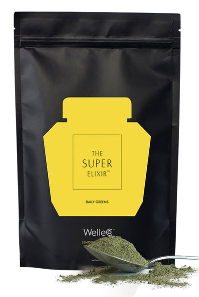 WelleCo The Super Elixir  - Daily Greens Lemon and Ginger