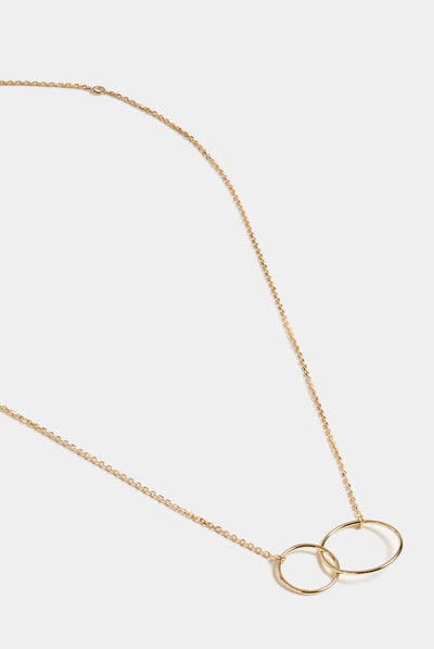 Stephanie Grace Jewellery Double Circle Necklace