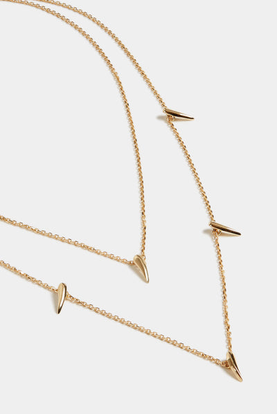 Stephanie Grace Jewellery Double Strand Spike Necklace