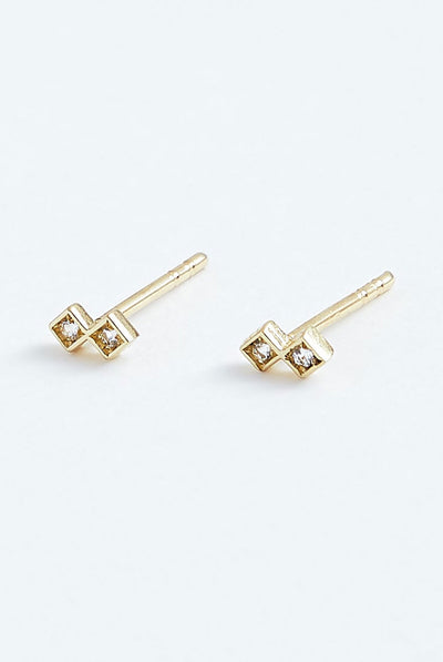 Stephanie Grace Jewellery Duo Studs