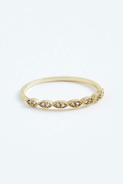 Stephanie Grace Jewellery Eyelet Ring
