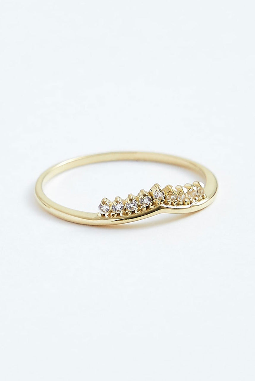 Stephanie Grace Jewellery Princess Ring - J Gold