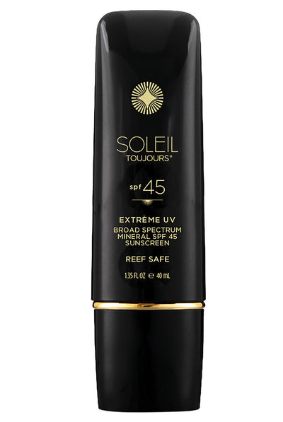 Soleil Toujours Extrème UV Mineral Sunscreen SPF 45 For Face