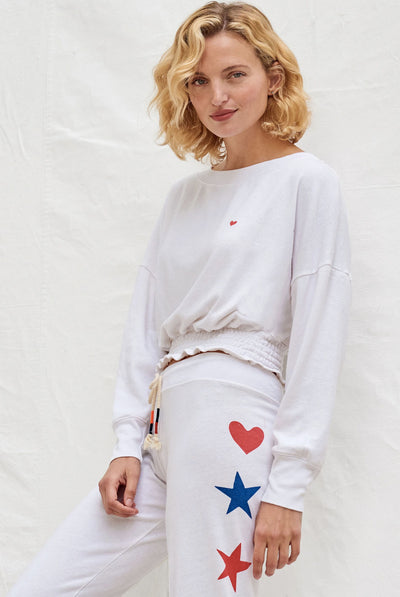 Little Heart Sweatshirt by Sundry