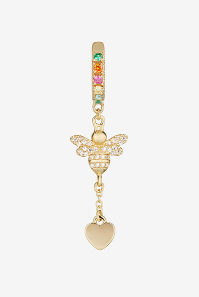 Victoria Bee Rainbow Ear Cuff by Camila Carril