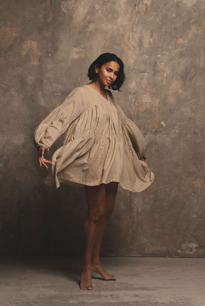 A Perfect Nomad SYMI dress - sand - One Size sand