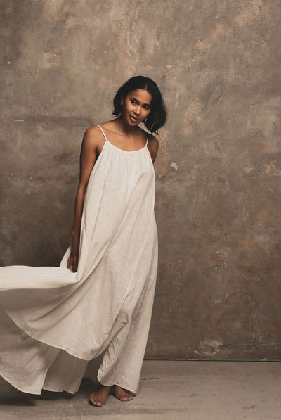 A Perfect Nomad SYROS dress - milk