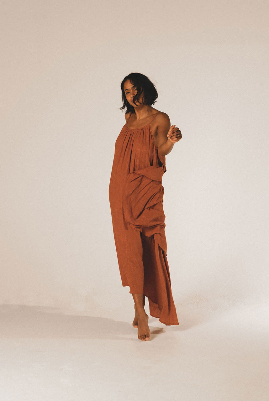 A Perfect Nomad SYROS dress - ochre - One Size ochre