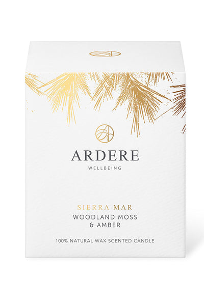 ARDERE Sierra Mar Candle - Woodland Moss & Amber