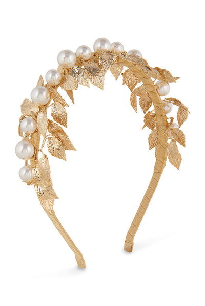Esme Headband - Gold by Alice & Blair