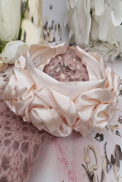 Juliet Silk Floral Headband by Alice & Blair.