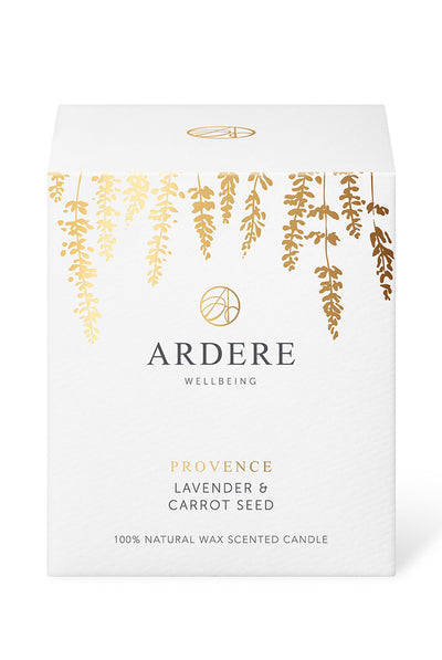 ARDERE Provence Candle - Lavender & Carrot Seed