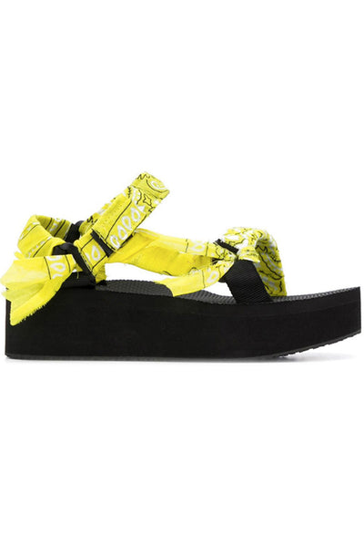 Arizona Love Trekky Platform Yellow