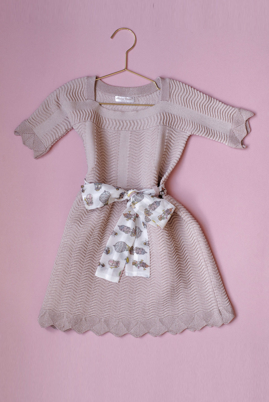 Atelier Choux KNITTED DRESS