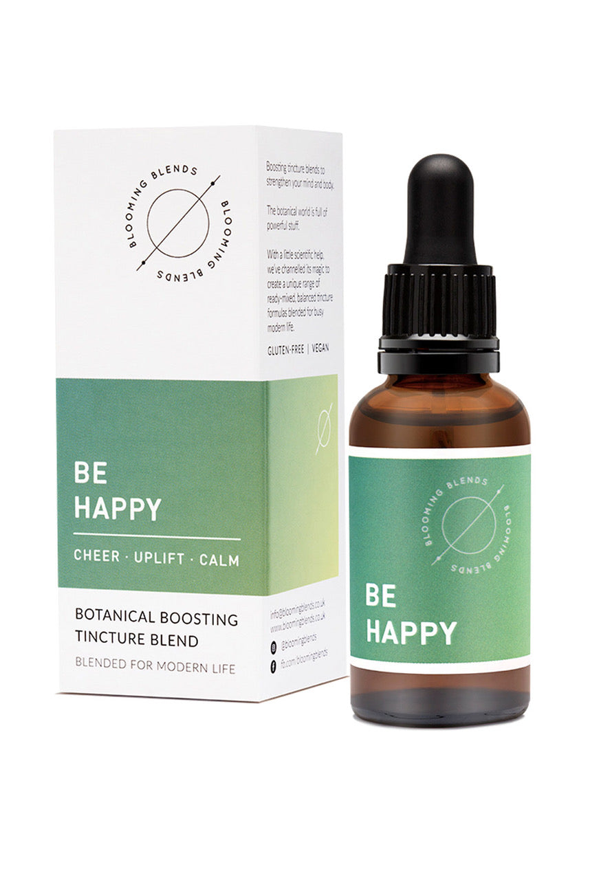 Blooming Blends Be Happy Herbal Tincture - 30ml