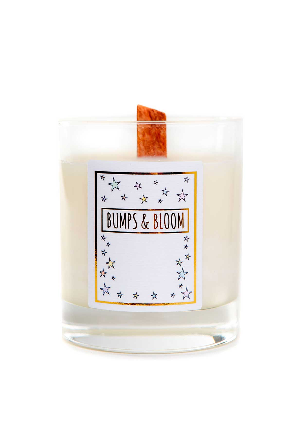 Bumps and Bloom Bedtime Candle - One Size