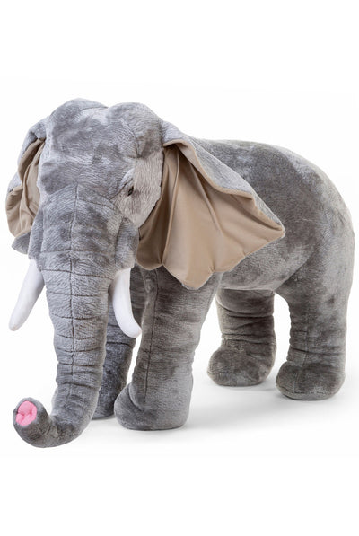 CuddleCo Standing Elephant Stuffed Animal 75 cm