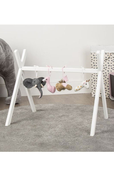 CuddleCo Tipi Play Gym Frame White