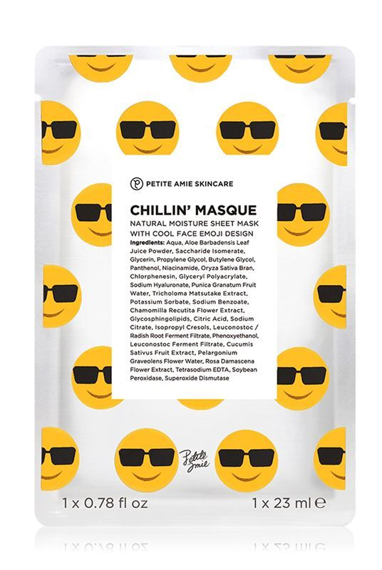 Petite Amie Skincare Chillin Masque - One Size Yellow