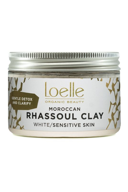 Loelle White Moroccan Rhassoul Clay