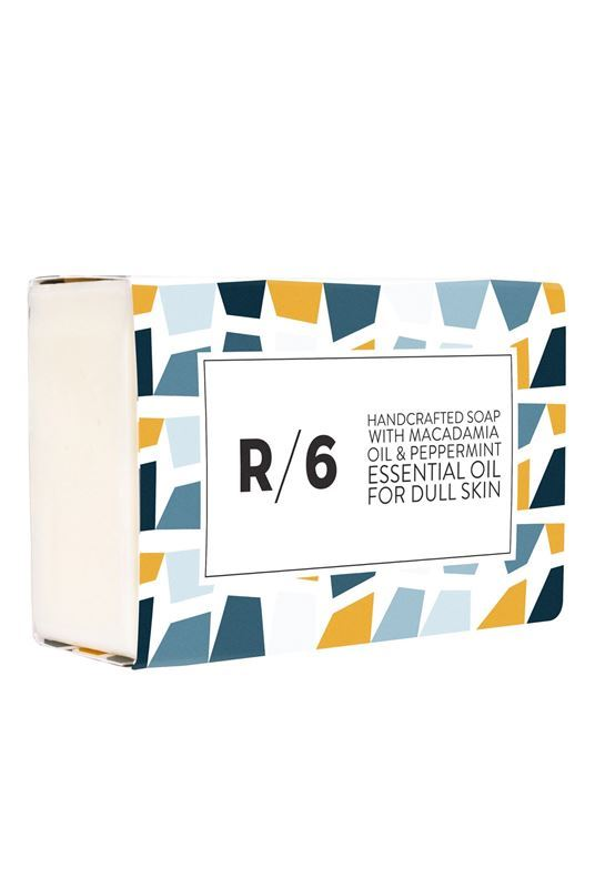 Cosmydor R/6 Handcrafted Soap with Macadamia Oil & Peppermint Essential Oil - Dull Skin - 100g