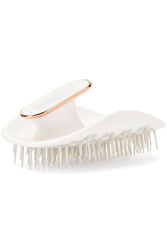 Manta Hair Hairbrush in White - One Size White