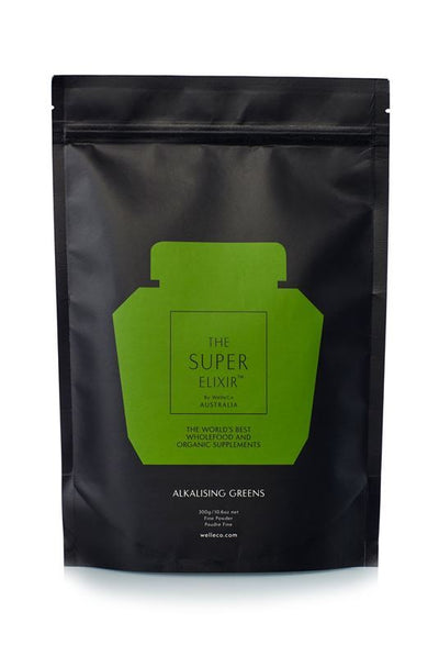 WelleCo The Super Elixir - Alkalising Greens Pouch