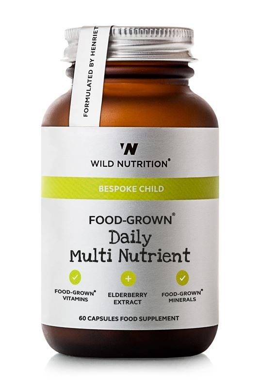Wild Nutrition Food-Grown Daily Multi Nutrient (Children's) - 60 capsules
