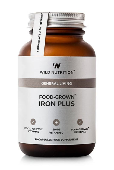Wild Nutrition Food-Grown® Iron Plus