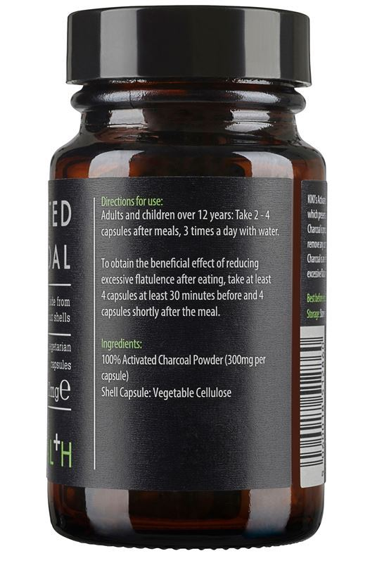 oxygen-boutique-kiki-health-Activated-Charcoal-50-Vegicaps-side