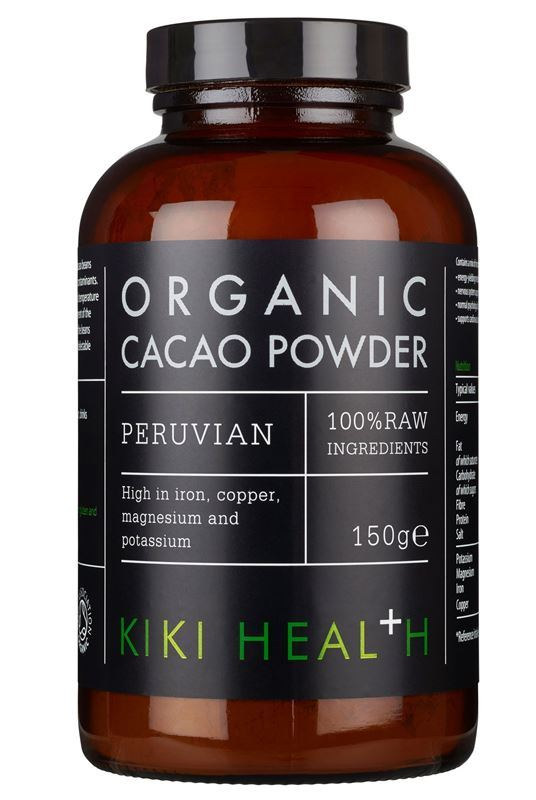 Kiki Health Cacao Powder, Organic - 150g