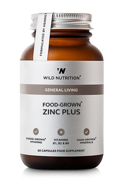 Wild Nutrition Food-Grown® Zinc Plus