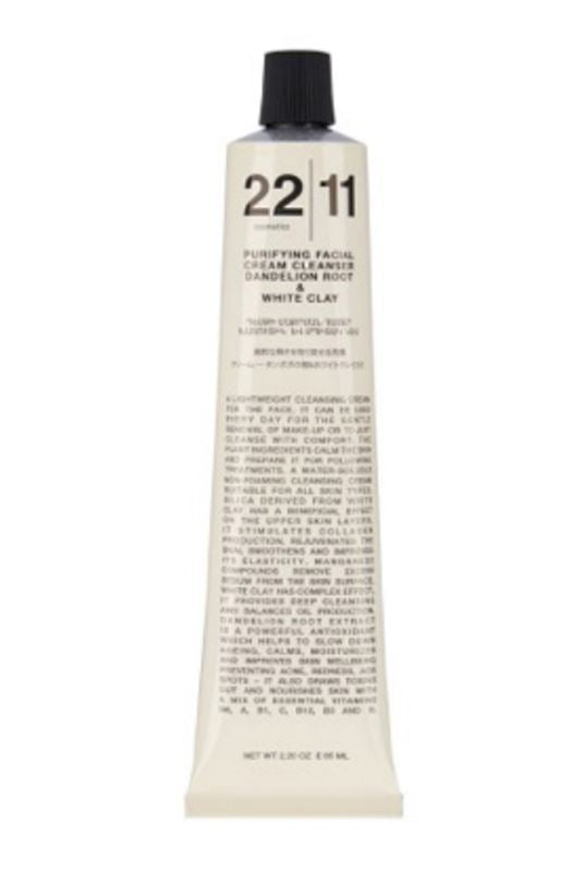 2211 Cosmetics Fc - Purifying Facial Cream Cleanser Dandelion Root + White Clay