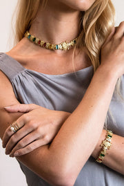 Elizabeth Caterpillar Necklace by Camila Carril