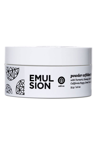 Powder Exfoliant by Emulsion