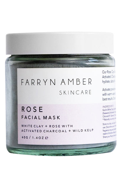 Rose Facial Mask by Farryn Amber