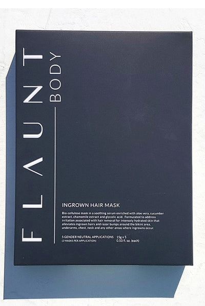 Flaunt Body Ingrown Hair Mask | Five Treatment Set