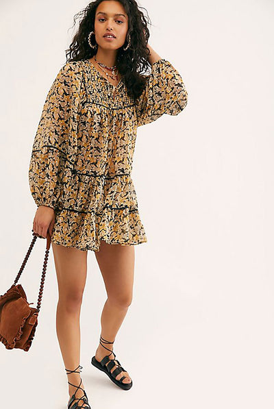 Free Swinging Mini Dress by Free People