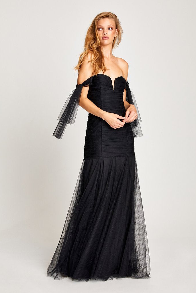 Alice McCall Good Vibes Gown - AUS10 Black