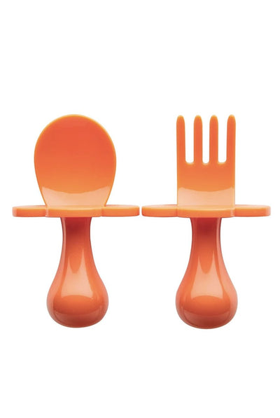 Grabease ORANGE YOU HUNGRY Baby Utensils