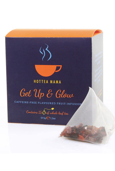 Get Up & Glow by HotTea Mama