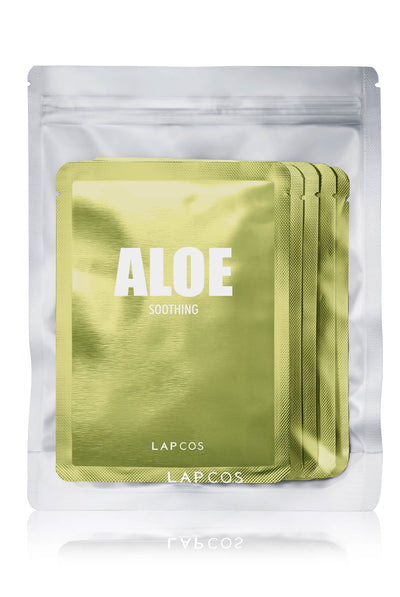 Daily Skin Mask Aloe 5 Pack by Lapcos